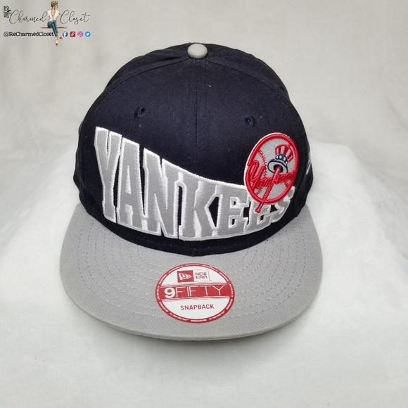 9c2698c7ffc New Era Snapback New York Yankees MLB cap hat. New Era.  M 5cad6847c953d8e6100dc29d. M 5cad685319c1576903d3fafc.  M 5cad6860ffc2d4335f2e09ad